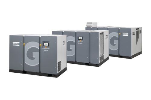 Air Compressors Atlas Copco Oil Injected Gambar 5 by SurfacePrep